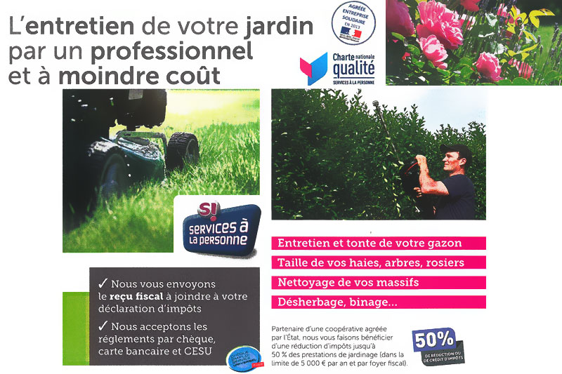 L 39 entretien de votre jardin par un professionnel et for Cout entretien jardin